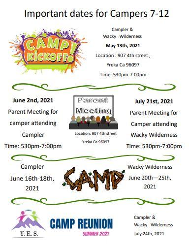 new camp dates 1